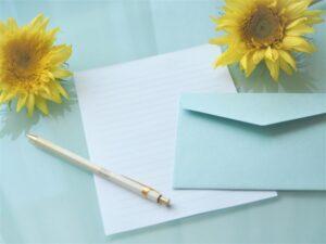 担任の先生へのお礼の手紙